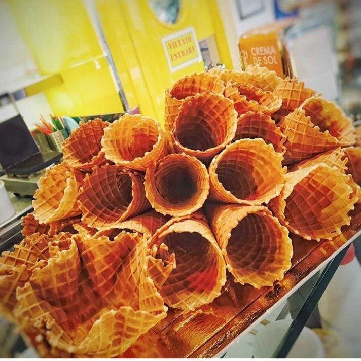 Il gelato di sara-gelateria superolmi-casalguidi-gelato-buono-coni-cialde